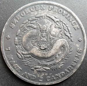 Szechuan dollar Y-243 L&M 352 - Obverse