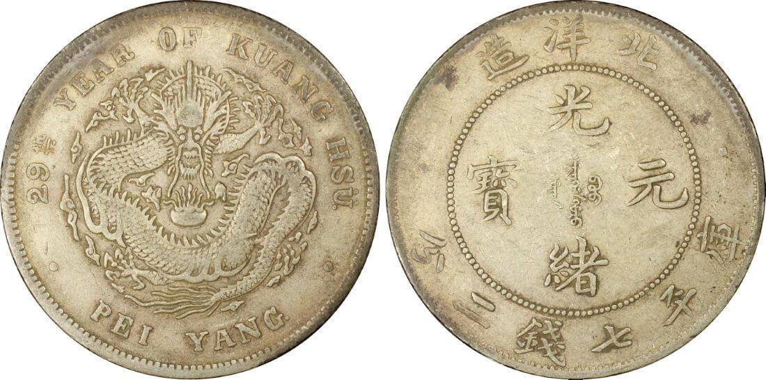 Dragon Dollar > Dragon Dollar & Chinese Coins